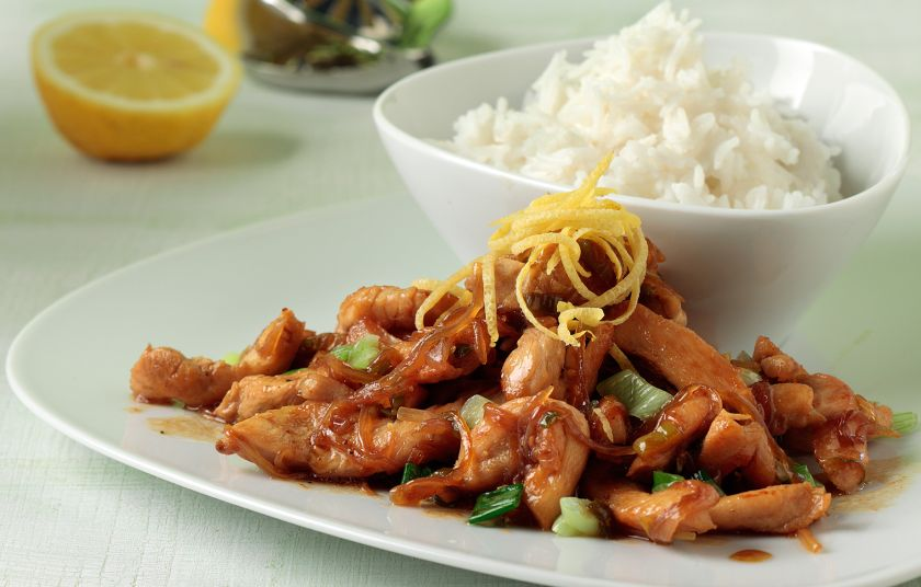 Image result for Κοτόπουλο με σόγια