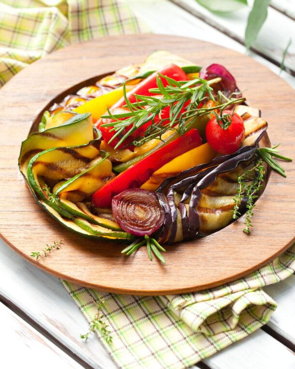 Ψητά λαχανικά του θέρους