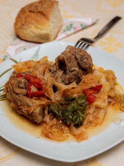 Λαχανάτο με πρόβειο κρέας