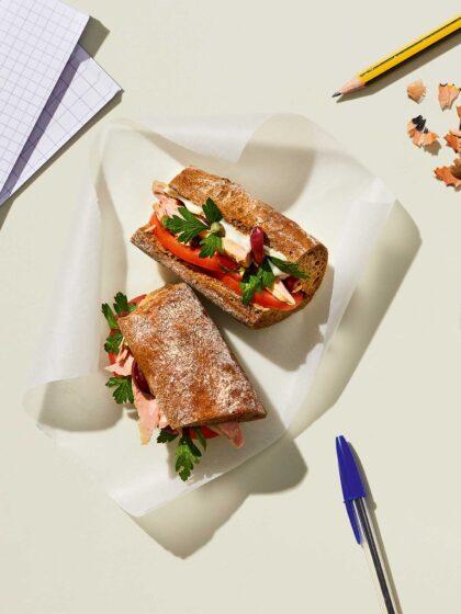 σάντουιτς με τόνο συνταγή